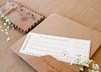 giset wedding invitaciones de boda personalizadas invitaciones de boda billete de avion 2