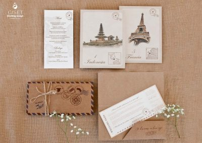 giset wedding invitaciones de boda personalizadas invitaciones de boda billete de avion