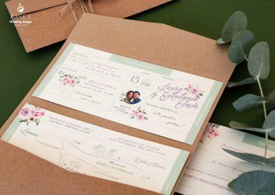 giset wedding invitaciones de boda personalizadas invitaciones de boda receta medica