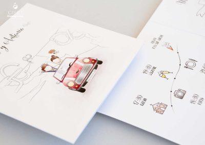 giset wedding invitaciones de boda personalizadas_invitaciones con ilustracion de novios personalida