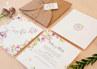 giset wedding invitaciones de boda personalizadas_invitaciones de boda kraft