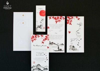 giset wedding invitaciones de boda personalizadas_invitaciones de boda tematica japonesa