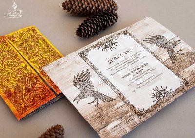 giset wedding invitaciones de boda personalizadas_invitaciones estilo vikingo