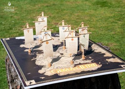 giset wedding seating plan juego de tronos personalizado
