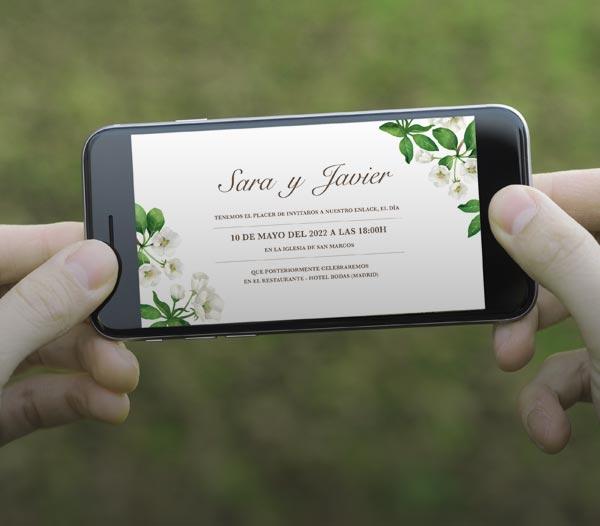 giset wedding video invitaciones de boda