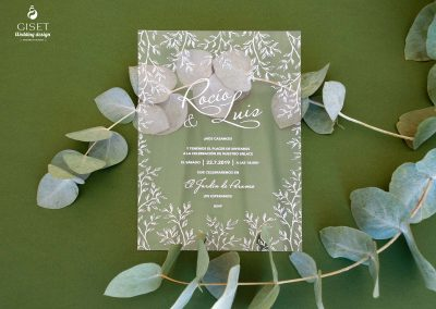 giset wedding invitaciones de boda diferentes invitaciones de boda transparentes invitaciones de boda metacrilato