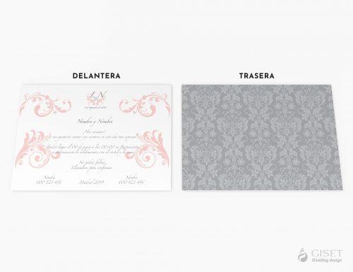 invitaciones de boda clasicas giset wedding