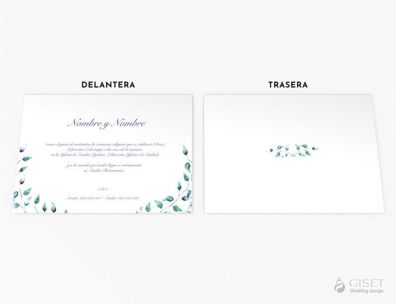 invitaciones de boda con hojas giset wedding 59