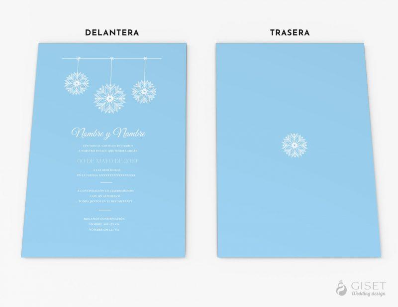 invitaciones de boda invernales giset wedding