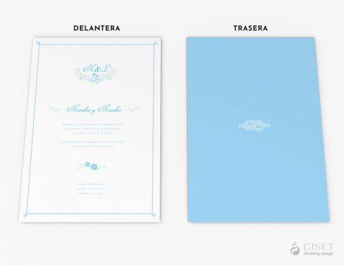 invitaciones de boda marineras giset wedding