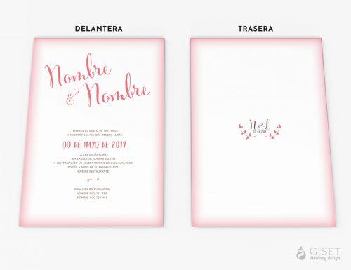 invitaciones de boda sencillas giset wedding