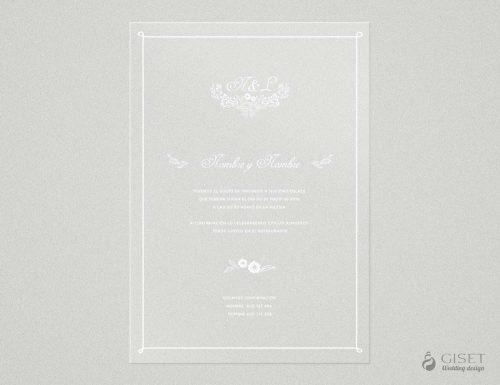 invitaciones de boda transparentes sencillas estilo marinero Giset Wedding