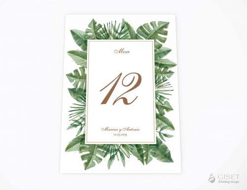 meseros de boda tropicales giset wedding