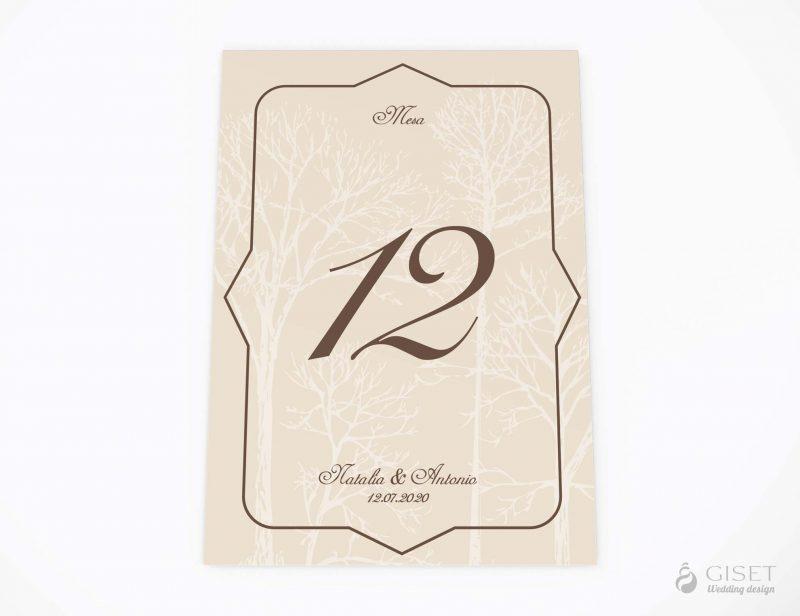 meseros de boda vintage otoñales giset wedding